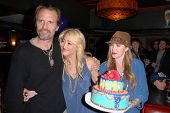 Michael Biehn, Jennifer Blanc-Biehn and Jenise Blanc at Jennifer Blanc-Biehn's Birthday Party, Sardo