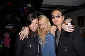 Caitlin Keats, Jennifer Blanc-Biehn and Jeehun Hwang at Jennifer Blanc-Biehn's Birthday Party, Sardo