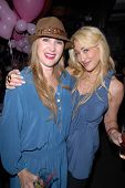 Jenise Blanc and Jennifer Blanc-Biehn at Jennifer Blanc-Biehn's Birthday Party, Sardos, Burbank, CA.