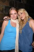Kym Jackson and Jennifer Blanc-Biehn  at Jennifer Blanc-Biehn's Birthday Party, Sardos, Burbank, CA.