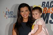 Ali Landry and daughter Estela Monteverde at the 17th Annual Race To Erase MS, Century Plaza Hotel,