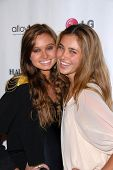 Haley Bartlett and Chanel Celaya at the Haute and Bothered Season 2 Launch Party, Thompson Hotel, Be