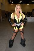 Mary Carey as Silk Spectre from