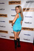 Paula Labaredas at the Red Carpet Launch Party for