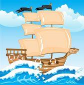 Nave seaborne