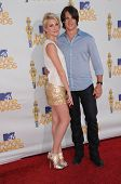 Chelsea Staub and Steve R. McQueen at the 2010 MTV Movie Awards Arrivals, Gibson Amphitheatre, Universal City, CA. 06-06-10