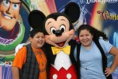 Rico Rodriquez and Raini Rodriguez  at the World Premiere of 'World Of Color,' Disney's California A