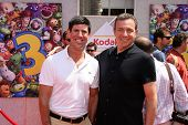 Rich Ross and Bob Iger at the