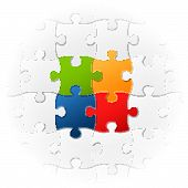 Jigsaw Puzzle - Teamwork - The Very Special Parts