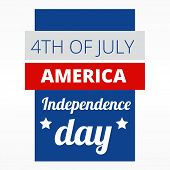 4th of july american indepence day design