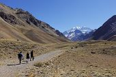 stock photo of aconcagua  - Aconcagua - JPG