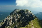 Piatra Craiului mountain ridge