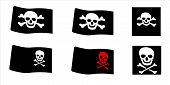 Pirate Flags Set