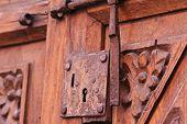 Old Lock - Santa Catalina Convent, Arequipa, Peru