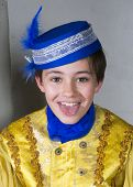 Young Boy Dressed As A Prince