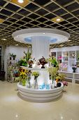 SHENZHEN, CHINA-APRIL 13: fresh flower shop interior on April 13, 2014 in Shenzhen, China. ShenZhen