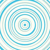 Blue circles background pattern illustration