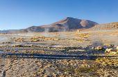 Termas de Polques at dawn, Sur L�?�pez Province, Bolivia