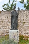 Monument To Augustin Kazotic In Trogir, Croatia