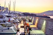 stock photo of piraeus  - Marina of Greece in central city Piraeus
