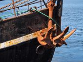Heavy Ship Boat Anchor