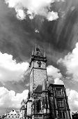 Old Tower In Prague