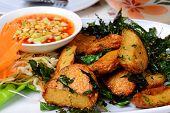 Fried Fish Cake (tod Mun Pla)