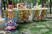 Children's Attraction In Feodosia