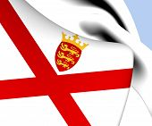 Bailiwick Of Jersey Flag