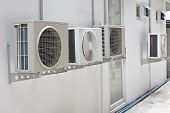 Air Conditioner At Wall