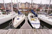 harbour  in honfleur