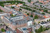 Aerial Cityscape Oftthe Hague, City Of The Netherlands