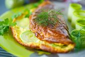 Omelette With Zucchini