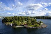 Island in the Stockholm archipelago