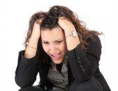 Business Woman Failure