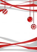Baubles and Ribbons Background