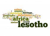 Lesotho Word Cloud