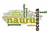 Nauru Word Cloud
