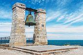 foto of sevastopol  - Big bell in the Chersonesus in Crimea near Sevastopol - JPG