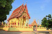 Temple at Wat Pho sao han