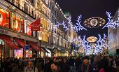 Hamley's toy super store on Black Friday weekend in London. First sale before Christmas.