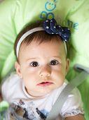 Small Baby Girl Portrait