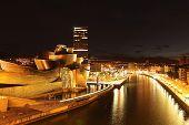 Night at Bilbao