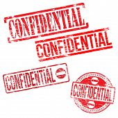 Confidential Stamps