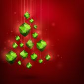 Merry Christmass And Happy New Year Abstract Vector Illustration