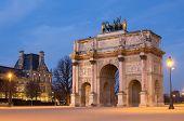 Arch of Triumph in Paris (France)