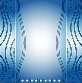 Blue modern vector background