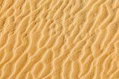 Sand texture in desert
