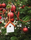 Christmas Tree Decoration wooden Ornament