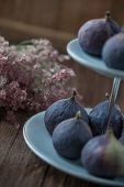 Figs On A Cake Stand